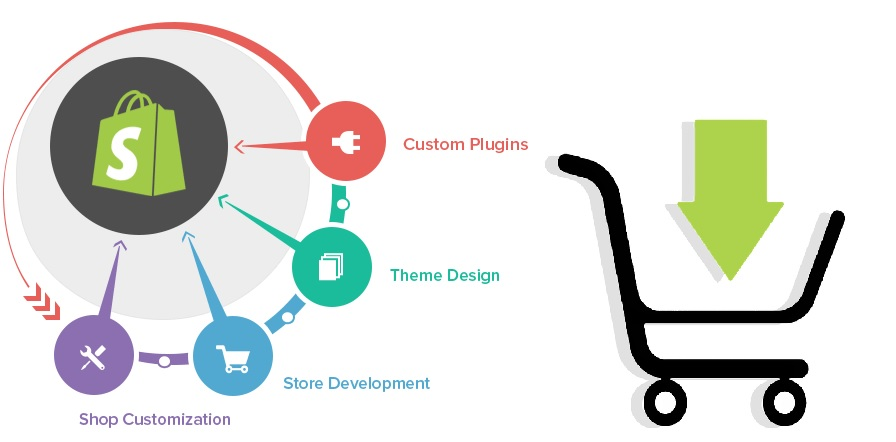 Shopify web development services provider company