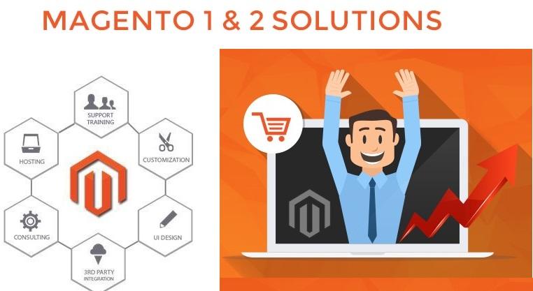 magento ecommerce web development solutions provider company